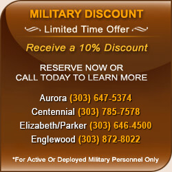 Military Discounts at Metro Denver Self Storage Units
